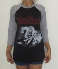 Unisex Judas Priest Raglan 3/4 Sleeve T-Shirt Baseball Jumper Size S M L XL