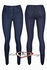 Womens Coloured Skinny Jeggings Jeans Leggings STRETCH Fit Trousers Size 8 - 20