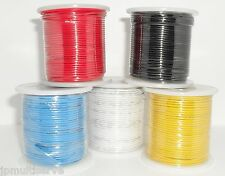 One 100ft Roll Electrical Wire 22g Solid Core 22awg