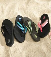 TEVA Women's ADAPTO & MUSH II Flip Flops Sz 6 & 7  Many Colors & Patterns NWT