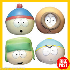 Mens Fancy Dress Up Costume Accessory RD Licensed Southpark Deluxe Latex Mask
