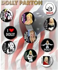"""STUNNING DOLLY PARTON ~ COUNTRY LEGEND/ 25 MM/ 1 """" BUTTON BADGE"""