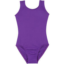 PURPLE Tank Leotard for Ballet and Gymnastics