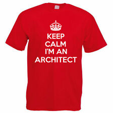 KEEP CALM I'M AN ARCHITECT - Engineering / Buildings / Funny Themed Mens T-Shirt