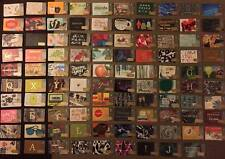 STARBUCKS GIFT CARDS 2014 - CANADA SERIES - 99 HOLIDAY LINE UP - NEW - NO VALUE