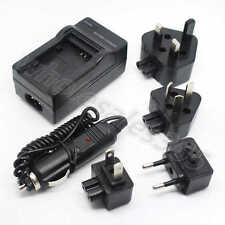 For JVC BN-VG121 BN-VG114 Battery Home Travel Wall+Car Camera Charger Adapter