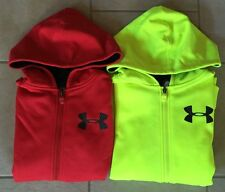Boy's Under Armour Hoodies Cold Gear MagZip Youth