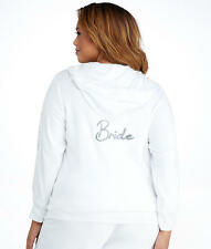 Betsey Johnson Bride Baby Terry Hoodie Plus Size
