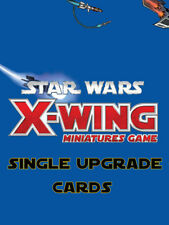 Star Wars X-Wing Miniatures Game - Upgrade Cards SECONDARY WEAPONS AND BOMBS