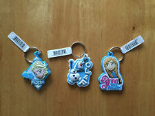 Official Disney Frozen Elsa Anna Olaf Rubber Keyring Keychain New Choose Your