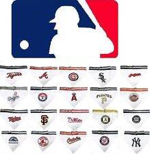 MLB Fan Pet Gear Bandana for Dog Dogs PuppyPuppies COTTON -ALL TEAMS- PICK YOURS