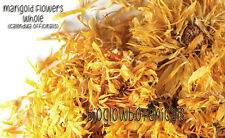 Dried Egypt Marigold Flowers Calendula Officinalis Bulk Tea Organic FREE SHIP