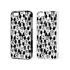 Disney Mickey Mouse patrón de dibujos animados Funda Protectora Para Iphone Ipod Samsung Galaxy