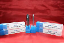 4 Flute Corner Rounding  Solid Carbide Intercarb End Mill