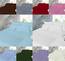 180 Thread Count Box Pleated Valance sheet Percale Single Double King Super King