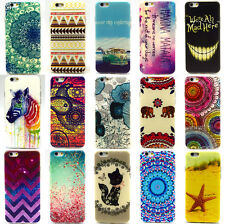Rubber Soft TPU Silicone Phone Back Case Cover For Apple iPhone 4S 5S 5C 6 6Plus