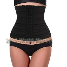 UK YOGA Weight Loss Slimming Shaper Belt Waist Belly Band Cincher Corset #65AA