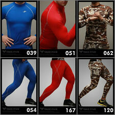 Take Five_Men's Compression Shirt & PantsⅡ_Sports wear_Rash guard_Base layer