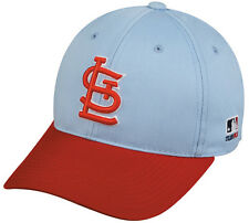 MLB ST LOUIS CARDINALS Baseball COOPERSTOWN CAP HAT Velcro STRAP YOUTH ADULT
