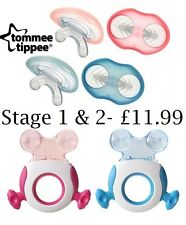 Tommee Tippee Closer to Nature Stage 1 *AND* Stage 2 Chill Teether Teething Toy