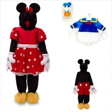 Boys Girls Fancy Dress Disney Minnie Mickey Mouse Donald Duck Age 2-6 Years NEW