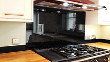 Galaxy BlackToughened Glass Splashback 600 x 750mm