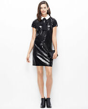Ann Taylor – Misses 2, 4, 6, 10 & 14 Black Sequin Tuxedo Dress  $228.00