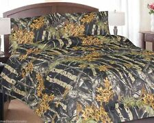 Camo Bed in a Bag Set - Comforter, Sheets & Pillowcases - The Woods- Reversible