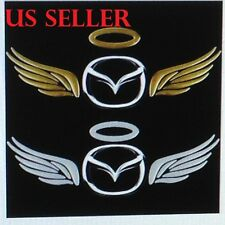 3D Silver Angel Wing Car Stickers/Auto Sticker Automobile Emblem Label # 45