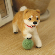 Hamanaka English+ Japanese Wool Needle Craft Felting KIT Dog Shiba inu H441-361