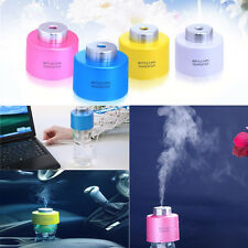 USB Portable Mini Water Bottle Caps Humidifier Air Diffuser Aroma Mist Maker