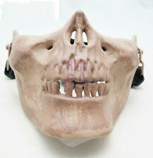 Tactical Military Skeleton Skull Half Face Mask Oudoor Hunting Riding GTY-456