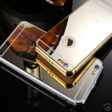 Luxury Aluminum Ultra-thin Mirror Metal Case Cover for Apple iPhone 6 6+ Plus UK