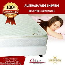 Premuim Quality Pillow Top Pocket Spring Mattress- Single/Double/Queen/King