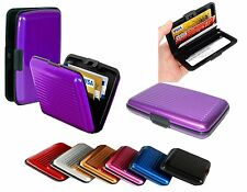 Waterproof Business ID Credit Cards Holder Case Wallet Aluminum Metal Pocket Box