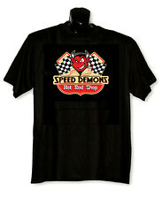 Speed Demons printed T-Shirt - Big & Tall - Greystone Big Sizes