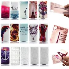 For Sony Xperia M2/Z3/Z4 Luxury Ultra-Thin Soft Rubber TPU Clear Skin Case Cover