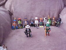 Playmobil: 5537 Series 7 hommes figures 12 différents types (NEUF)