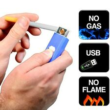 USB Electronic Rechargeable Flameless Cigarette Lighter Windproof