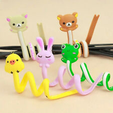 Headphone Winder Cartoon Long Cable Headset Earphone Manager Organizer Wrap F1R