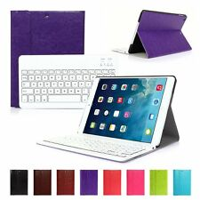 Wireless Bluetooth Keyboard+PU Leather Case Cover Stand For Apple iPad Air