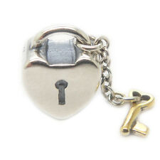 Key to my heart Authentic 925 Sterling Silver Charms Bead for Mom's Day