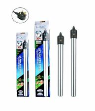 Hidom 300/500w Submersible Stainless Steel Aquarium Heater Fish Tank thermostat