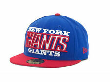 New York Giants New Era NFL Zoom 59FIFTY Fitted Cap (Blue/Red) NWT Size 7 1/2