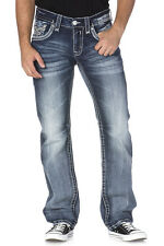 Rock Revival Men's Soho J Straight Cut Jeans