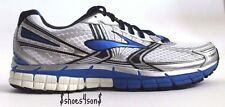 Brooks Men s Adrenaline GTS  14 Running Shoes, White/Electric/Silver  D width us