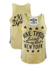 Roots of Fight Mike Tyson Kid Dynamite Striped Tank Top Boxing MMA Small L XL