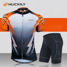 Cycling Bike Short Sleeves Clothing Set Bicycle Men Wear Suit Jersey Shorts Suit