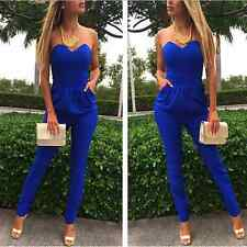 Hot Women Bandage Bodycon Sexy Clubwear Romper Jumpsuit Dress Party V Neck Pants
