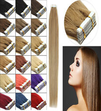 Seamless Tape-In Skin Weft 100% Indian Remy Human Hair Extensions HairsalonStyle